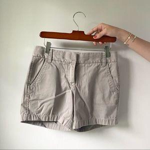 J Crew Grey Chino Shorts